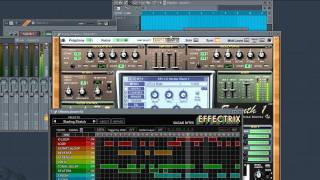 Transformers Sound Fx - Sylenth1, Fl Studio 10 and Effectrix
