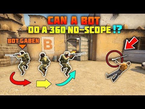 CS:GO - How Smart Are The Bots? #2