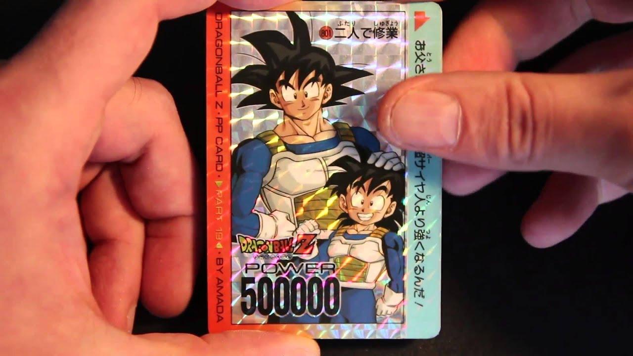 Dragon Ball Z GT Carte//Card pp card No 37 Prism Hard