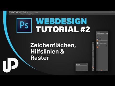 UX Design & Webdesign Mit Photoshop Zeichenflächen, Hilfslinien & Raster [Tutorial]