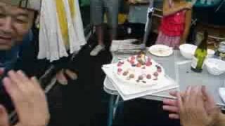 福井を代表するブロガー陰陽師たつやさんの誕生日のイベントにて、ナナ...