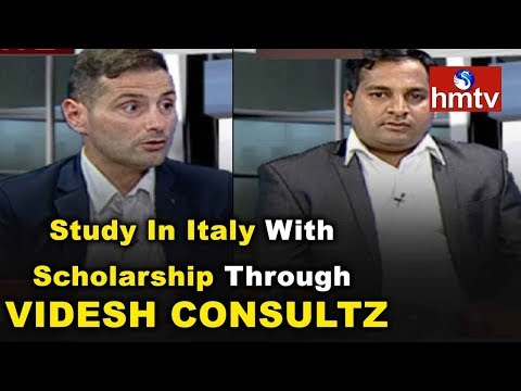 Study In Italy With Scholarship Through Videsh Consultz | Sainath | Marco | Career Times | hmtv News