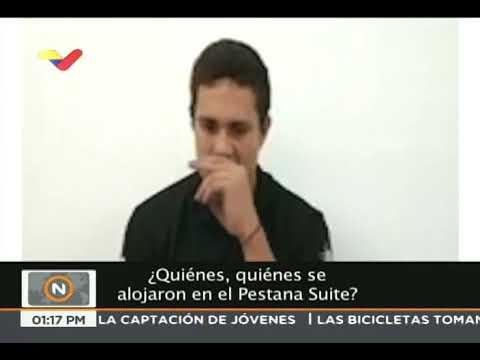 """Confesión de """"Alías Morfeo"""" sobre el ataque con drones contra Maduro"""