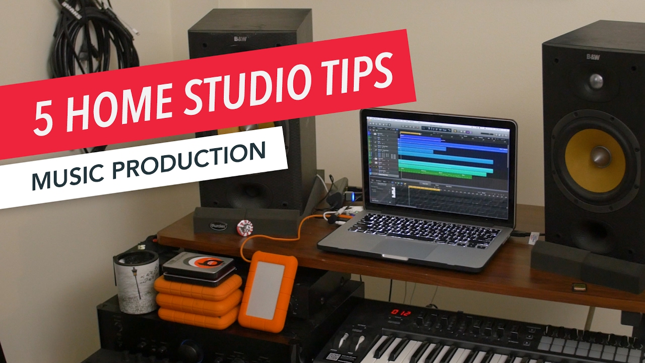 5 Essential Items For Your Home Studio