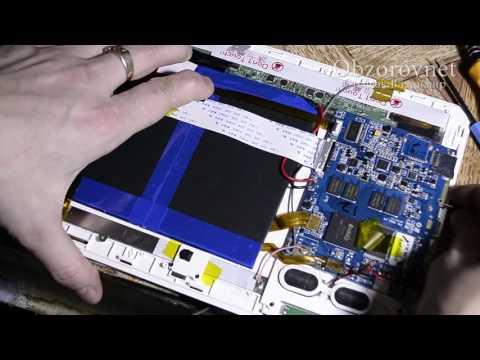 Ремонт зловещего планшета Goclever TAB R106 не включается Часть №1