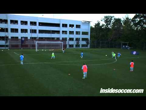 Group Tactics  Attacking  Part 1  New York Red Bulls Academy