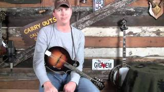 How to Play Whiskey Before Breakfast on Mandolin