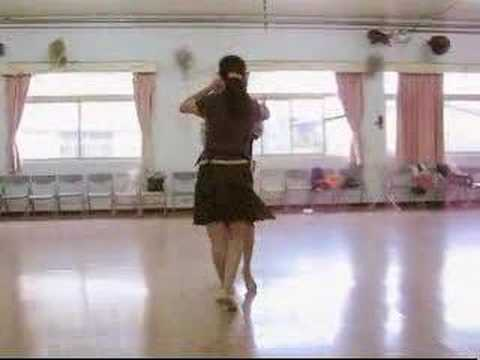 國標舞蔡秀慧老師舞蹈教室: 拉丁舞Jive捷舞 (快八步)雙人教學示範-02abc