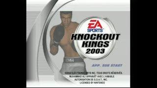 """[Gamecube] Introduction du jeu """"Knockout Kings 2003"""" de Electronic Arts (2002)"""