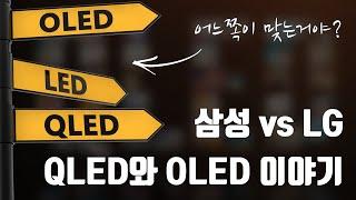 LG, 삼성 누구 말이 맞는거야? OLED와 QLED TV 이야기