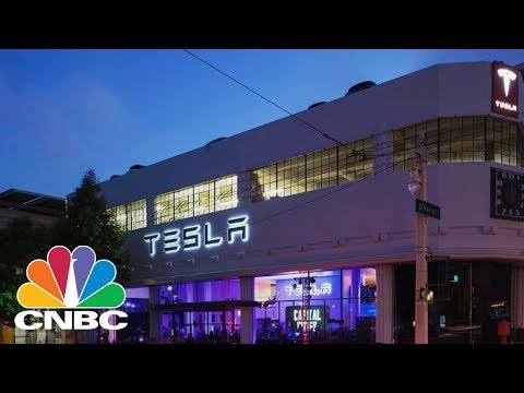 Tesla Market Cap Tops GM & Ford | CNBC