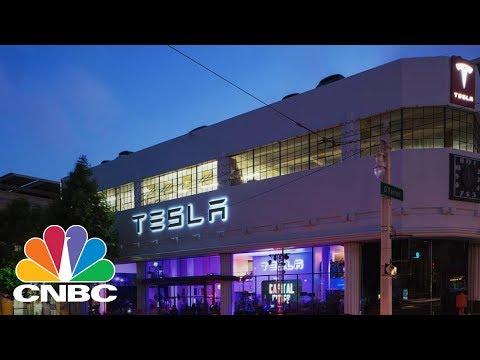 Tesla Market Cap Tops GM & Ford | CNBC