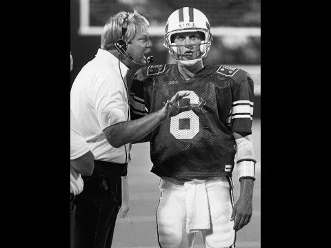 BYU QB Fundamentals, West Coast Offense   Mike Holmgren, LaVell Edwards