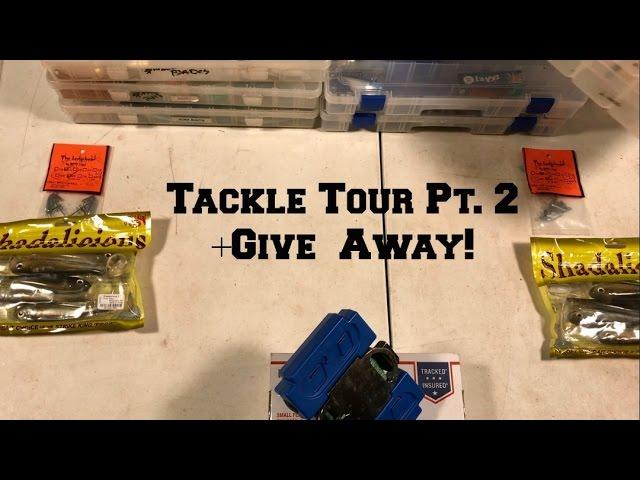 Tackle Tour Pt. 2 + 1500 Subscriber Give Away!