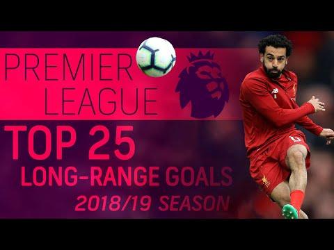 Top 25 long-range Premier League goals from the 2018-19 season | NBC Sports