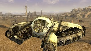 Fallout New Vegas - Alien Spaceship, Aliens, And Alien Blaster LOCATION