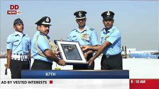 INDIAN AIR FORCE celebrates 87th anniversary