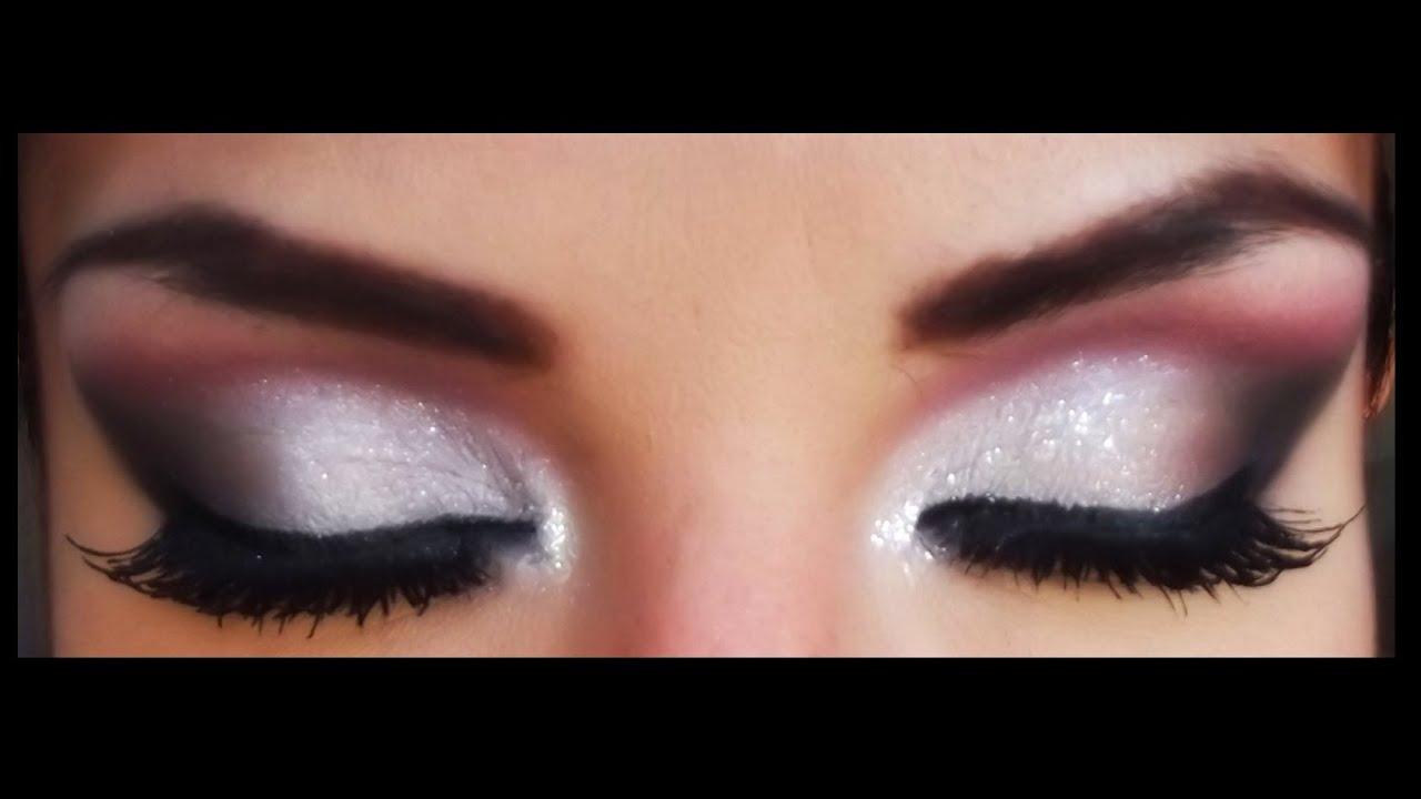 Maquillaje en Vino para fiestas Parpados Caidos/ Wine makeup Hooded Eyes