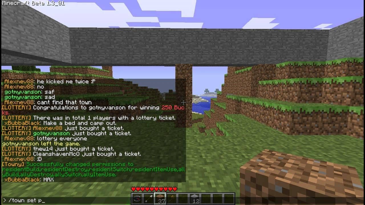 Towny Advanced - A plugin for Minecraft - Palmergames com
