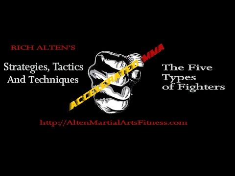 MMA Psychological Fighting Strategies [ The Five Types of Archetypes Fighters