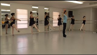 Ballet Arts of Austin: Adult student class demonstration, very beginners to advanced