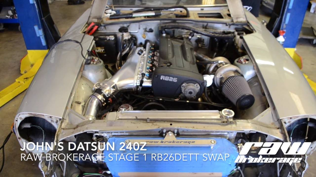 John's 240Z Built RB26 Swap - First Startup and Idle