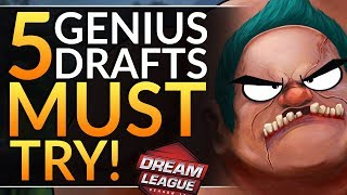 Top 5 GENIUS PICKS in the Major: How Pros WIN in the DRAFT - Hero Combos to CARRY | Dota 2 Guide