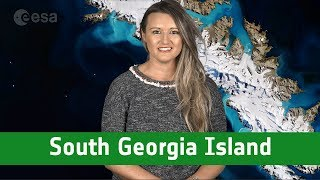 Earth from space: South Georgia Island