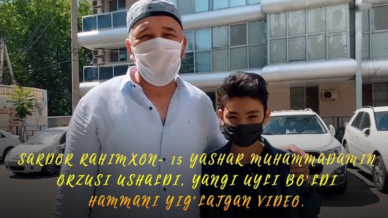 Sardor Rahimxon- 15 yashar Muhammadamin orzusi ushaldi, Yangi uyli bo'ldi. Hammani yig'latgan video.