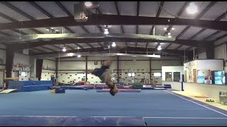 HOW TO LEARN TO DO A FRONT AERIAL - FRONT AERIAL TUTORIAL - Gymnastics and Cheer Tutorials