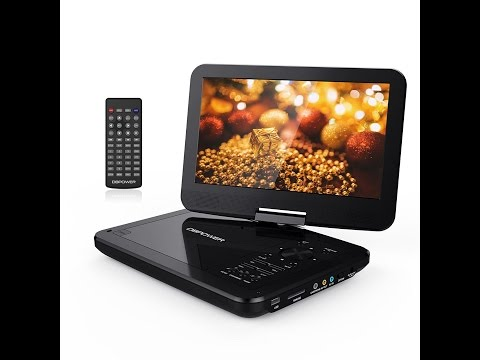 "DBPOWER 10.5"" Portable DVD Player  Review"