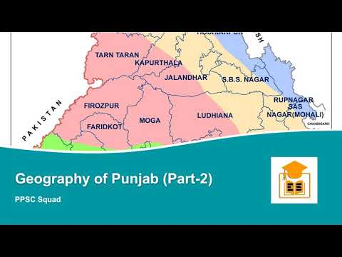 Geography Of Punjab For Ppsc Rivers Of Punjab