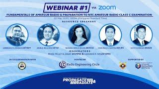 Radio Engineering Circle Propagate&Radiate Free Webinar # 1