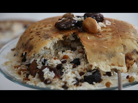 Չամիչով Փլավ Լավաշով - Rice with Raisins - Heghineh Cooking Show in Armenian