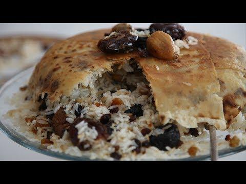 Չամիչով Փլավ Լավաշով - Rice with Raisins - Heghineh Cooking Show in Armenian