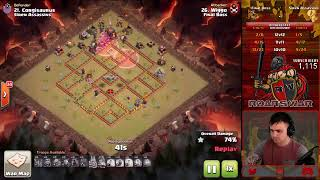 Final Boss vs Siren Assassins | Who will win? | Clash of Clans