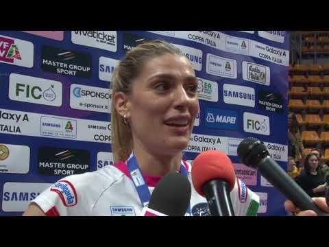 #Pallavolo Coppa Italia femminile - Novara-Conegliano 3-1: Francesca Piccinini