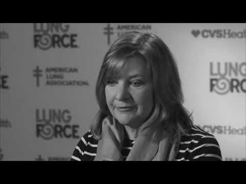 Lisa Shares Her Voice for LUNG FORCE