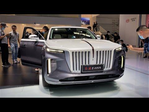 2021 FAW Hongqi E-HS9 FirstLook Walkaround—2020 Beijing Motor Show—2021款红旗E-HS9,外观与内饰实拍