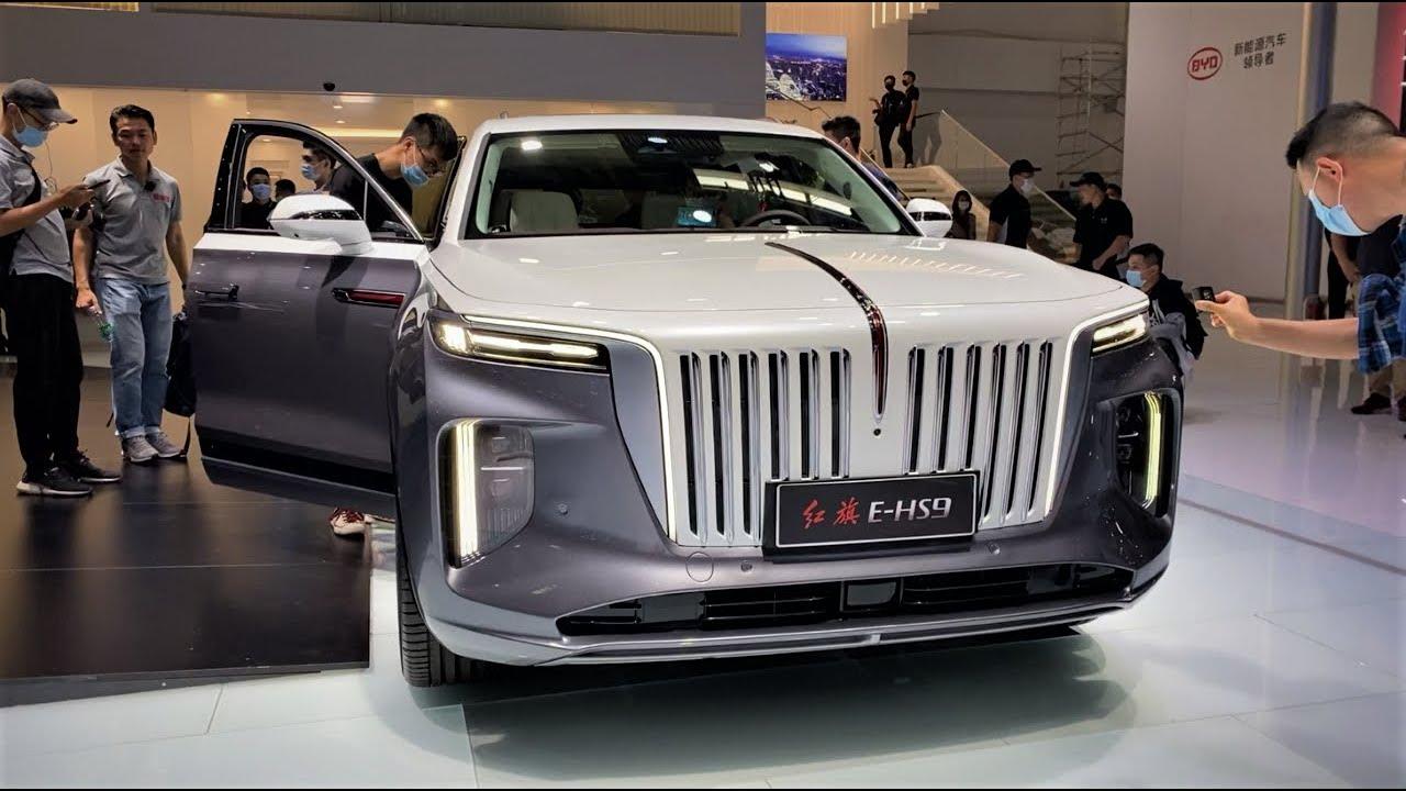 Download 2021 FAW Hongqi E-HS9 FirstLook Walkaround—2020 Beijing Motor Show—2021款红旗E-HS9,外观与内饰实拍
