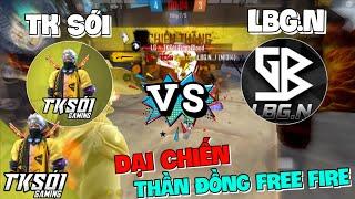 Thần Đồng Đại Chiến Free Fire - TK Sói Gaming Vs Lê Bình Gaming Mãnh Hổ Tranh Tài One Shot M1014