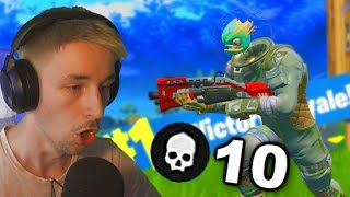 10 KILLS KRIJGEN IN 1 GAME!? - Fortnite Battle Royale