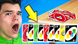 TROLLING With A FULL DECK Of ACTION CARDS! (Uno)