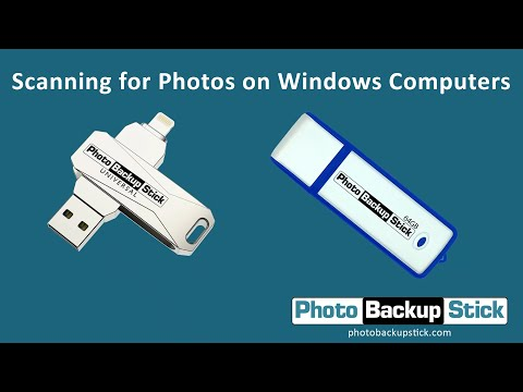 <strong>Scanning for Photos on Windows Computers</strong><br>How to scan for photos in other locations. Scan your entire computer, individual drives, or even individual folders.