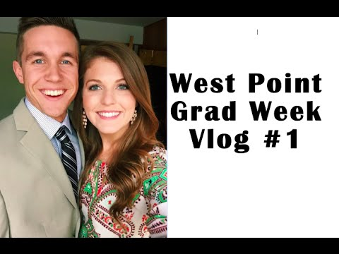 West Point Grad Week Vlog 1