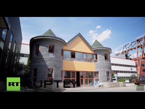 Thumbnail: China: Architects say this 3D-printed house can withstand earthquakes