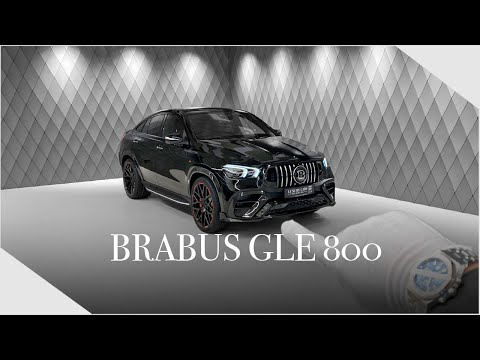 ONE of the FIRST GLE800 COUPE by Brabus ! Detailed Walkaround | Luxury Cars Hamburg