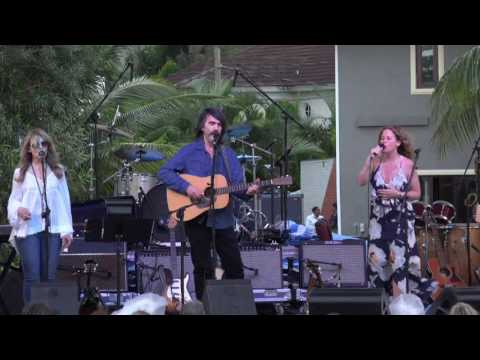 Larry Campbell and Teresa Williams and Amy Helm - Jamaica 2017 - Attics Of My Life - HD