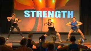 les mills cxworx 3 footage from ultimate super workshop sydney 2011