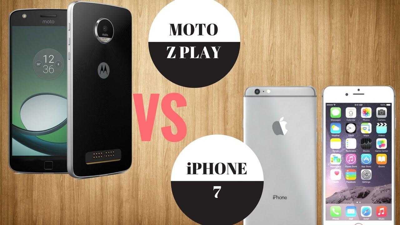 moto z vs iphone 7